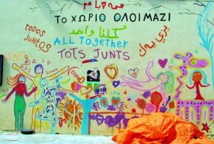 """Camp of All Together"", Lesbos 2016, Bild: Johannes Borgetto"